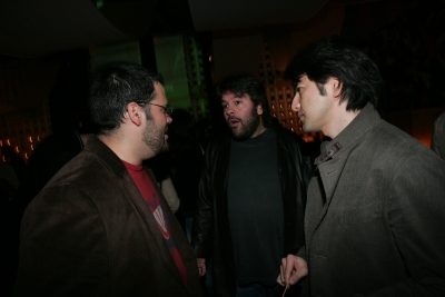 Mauro Alencar, P.J. Pereira and Rei Inamoto of AKQA