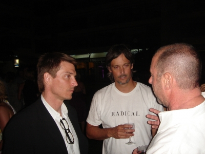 Alex Bogusky and Dafe Rolfe and Anonymous Content's Steve Golin