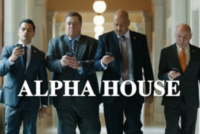 John Goodman and the cast of 'Alpha House' on Amazon Prime