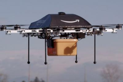 Amazon is working to makes its vision of robot delivery real.
