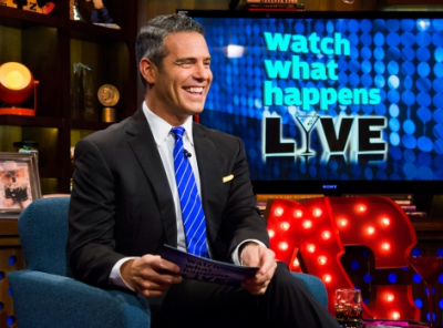 Andy Cohen on 'Watch What Happens Live.'