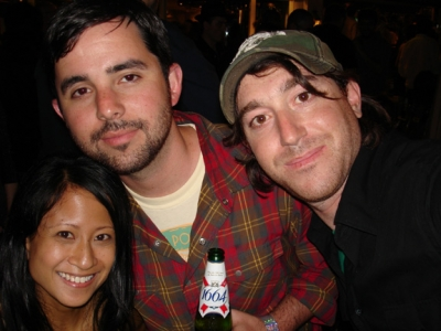 More Gutter action: Creativity's Ann Diaz and JWT/N.Y.'s David Suarez and Hunter Fine