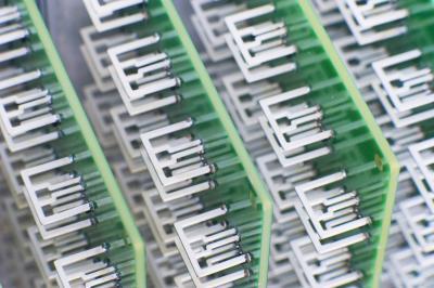An array of Aereo antennas.
