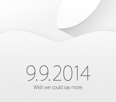 Apple's latest cryptic invitation.