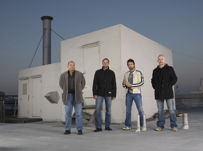 (The ATTIK heads, l-r: Ric Peralta, William Travis, Simon Needham and James Sommerville)