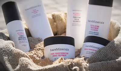 The signature Bare Minerals product line