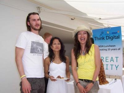 Benjamin Palmer, Ann Diaz and Jureeporn Thaidumrong