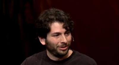 Blaise Aguera y Arcas at his 2007 TED talk