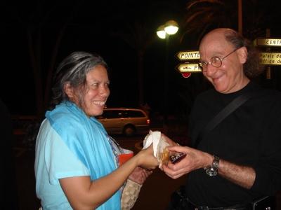R/GA's Bob Greenberg buys a burrito.