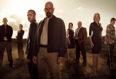 The cast of 'Breaking Bad'