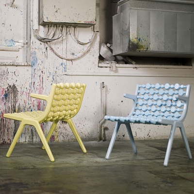 Parlan chair by Brikolor.