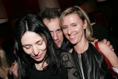 Stephanie Bruning, Stephane Sednaoui and Verenne Ferrari, misterboomboom