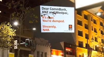National Australia Bank's 'Break Up' campaign