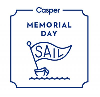 Casper's Memorial Day Sail aims to build a unique brand identity in the sleepy category.