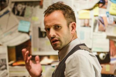 Jonny Lee Miller as Sherlock Holmes on CBS's 'Elementary.'
