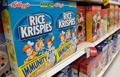 The rules would start in 2016 and only allow foods that contain no trans fat and not more than one gram of saturated fat and 13 grams of added sugar per 'eating occasion' to be marketed to children.