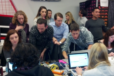 Inside Coke's command central at the Super Bowl