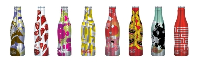 Coca-Cola WE8 packaging from Iconologic, Atlanta.