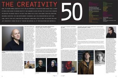 The Creativity 50