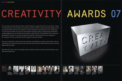 The First Annual Creativity Awards