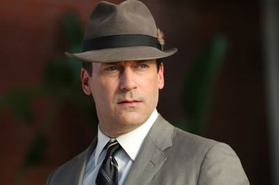Jon Hamm as Don Draper in the seventh-season premiere of 'Mad Men.'