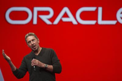 Oracle founder Larry Ellison.