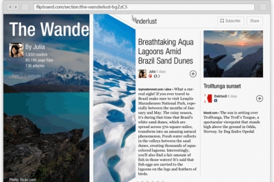 Flipboard is introducing another way for advertisers to reach readers in its 'pages.'