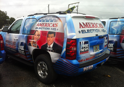 Fox News has been providing free SUV rides for the DNC in Charlotte this week.