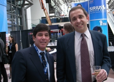 Robert Friedman, @radical.media entertainment and media president and Jan Renner, founder and CEO of driverTV.