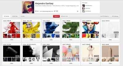 Alejandra Garibay's Pinterest Page