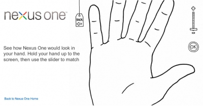 Nexus One website