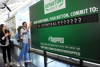 Heineken's Departure Roulette