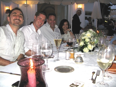 From left: David Droga, CAA's Jesse Coulter, Droga5's Ted Royer and JEH United founder Jureeporn Thaidumrong