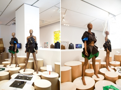 Pieces from Issey Miyake's 132.5 collection