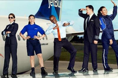 From JetBlue's Twitter account