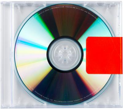 The cover of the Kanye West album 'Yeezus'