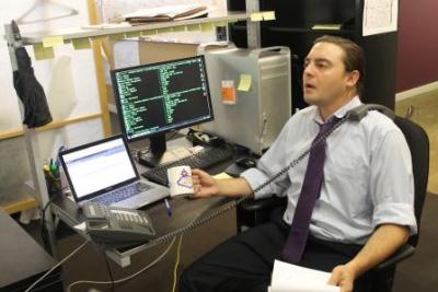 Keith Gooberman, VP of trading platform operations at Varick Media