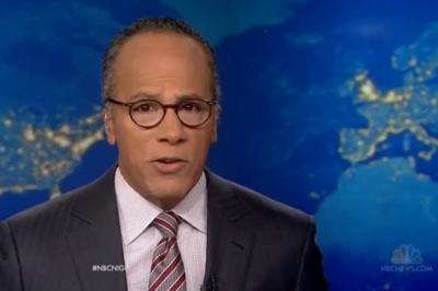 Lester Holt's ratings depend in part on the news, as they did for Brian Williams. Advertisers depend on the broadcast either way.