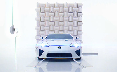 Lexus will become the first automotive brand to create a 3-D ad when it airs a 3-D version of its new 'Pitch' campaign for the Lexus LFA during the July 2 opening of Paramount's 'The Last Airbender.'