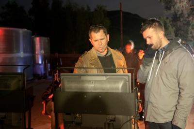 Producer Aris McGarry and Stink Digital EP Mark Pytlik