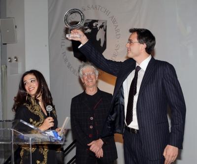 Her Royal Highness Princess Badiya of Jordan, Saatchi's worldwide creative director Bob Isherwood and Lifestraw inventor Mikkel Vestergaard Frandsen