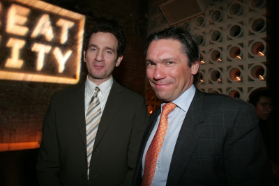 David Lubars and Andrew Robertson of BBDO