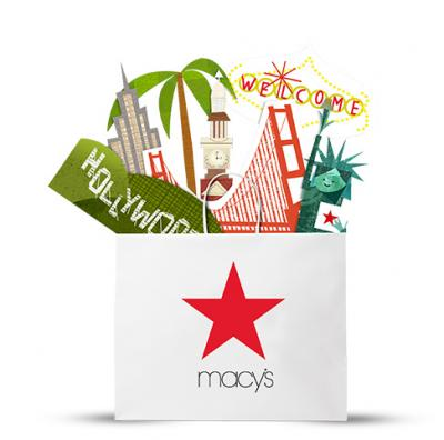 From a Macy's promotion on microblogging platform Weibo during Chinese New Year
