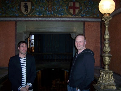 ACNE's digital dude Max Ahlborn and producer Richard Bjorlin