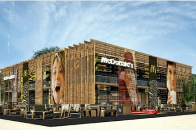 McDonald's will have four restaurants at the Olympic Park in London for this year's games.