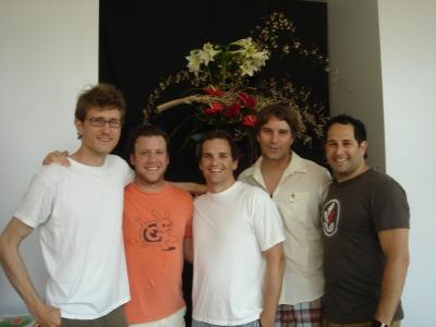 Those crazy Mekanism guys! Ian Kovalik, Lee Einhorn, Tommy Means, Pete Caban and Jason Harris