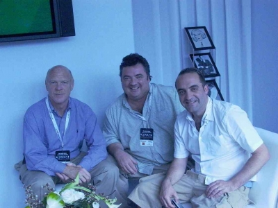 Mark Miller (president, senior partner), Martin Macdonald and Trefor Thomas (chief creative officers) of RMG Connect