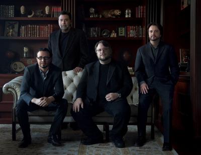 From left: Mirada founders Mathew Cullen, Guillermo Navarro, Guillermo Del Toro and Javier Jimenez