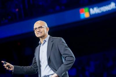 Microsoft CEO Satya Nadella announced in July the company would lay off 18,000 employees.