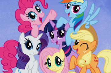 'My Little Pony: Friendship is Magic,' a series on The Hub.